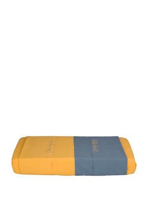 baby ledikantlaken blauw/geel 120x150cm