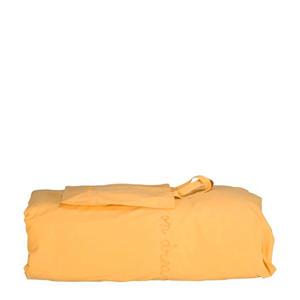 dekbedhoes ledikant geel 100x135 cm
