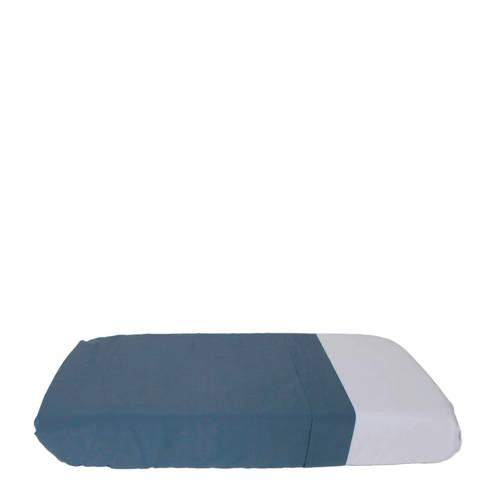 IMPS&ELFS wieglaken blauw 80x110cm kopen
