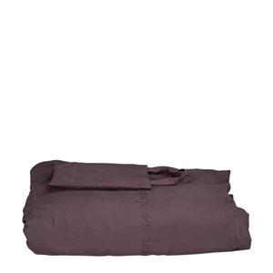 dekbedhoes ledikant antaciet 100x135 cm