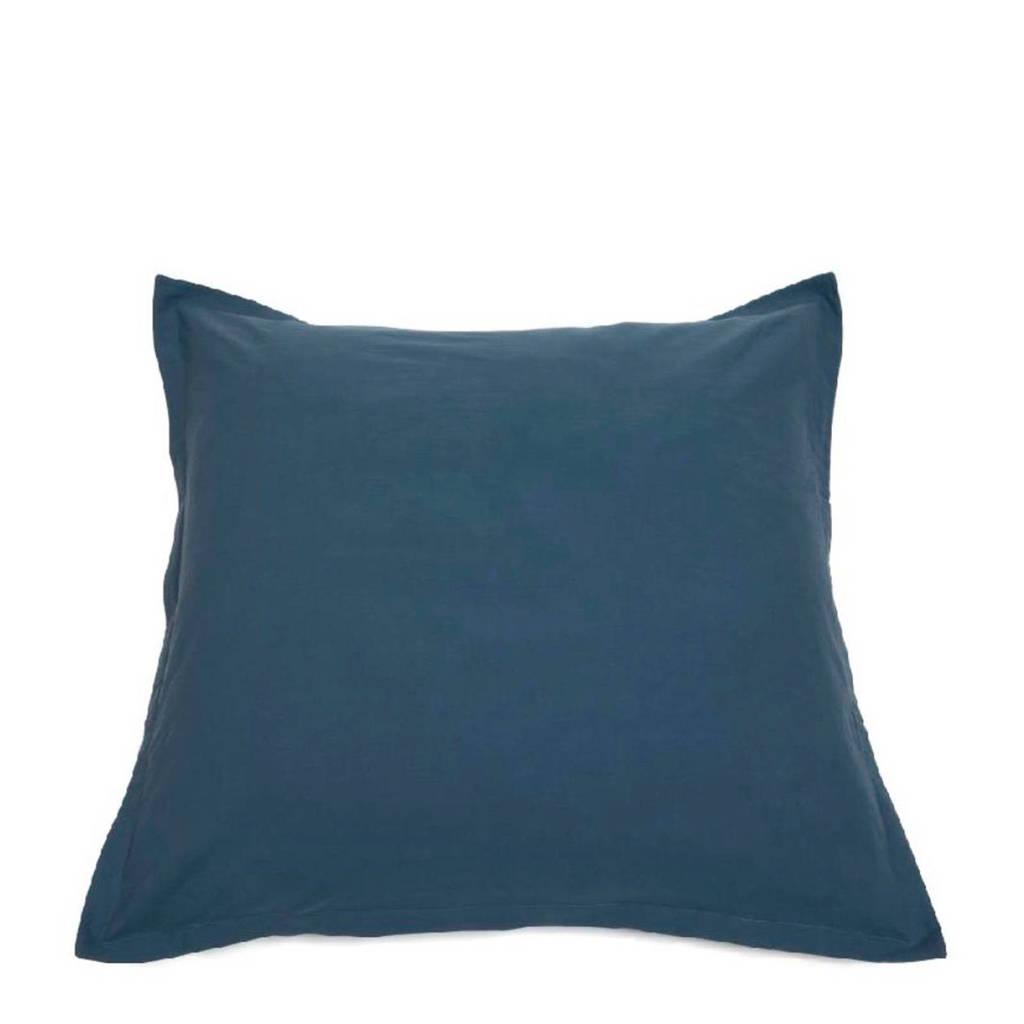 IMPS&ELFS Biologisch katoen kussensloop blauw 65x65 cm, Blauw