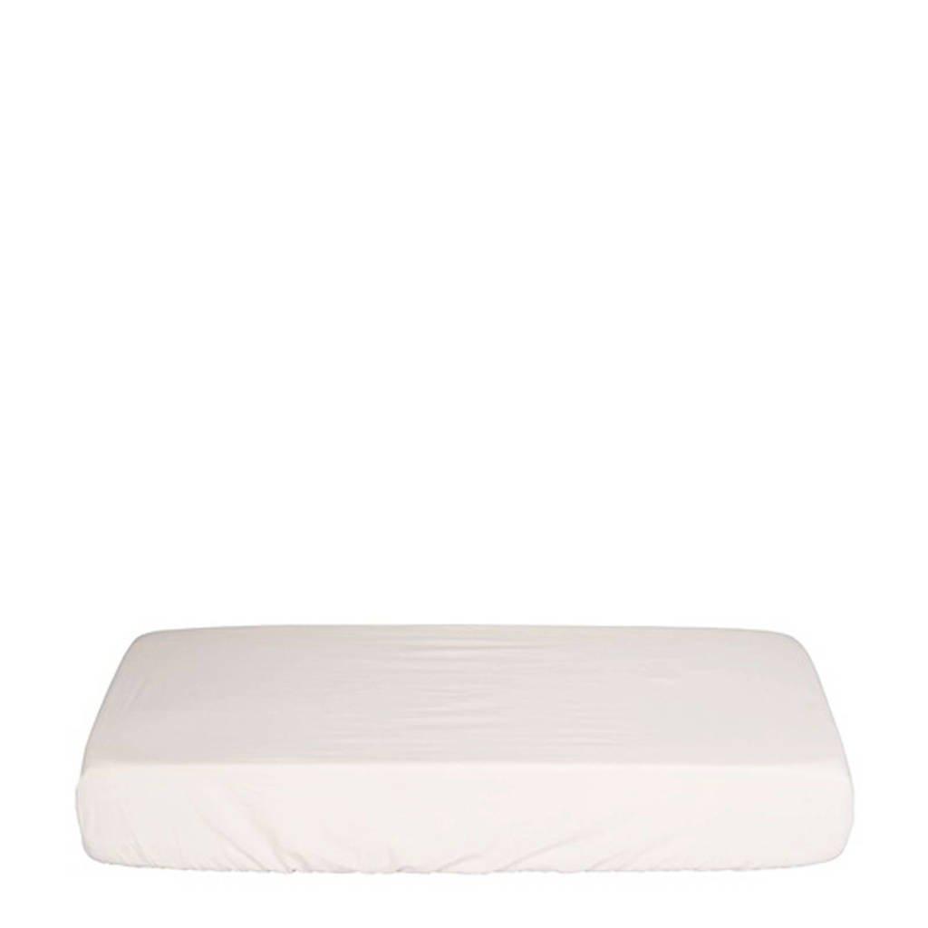IMPS&ELFS Katoen (biologisch) hoelaken ledikant wit 60x120 cm Wit