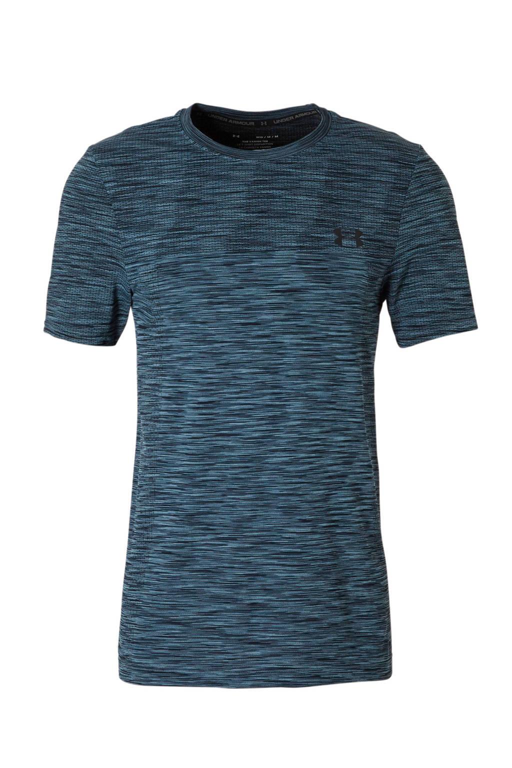 Under Armour   sport T-shirt, Blauw