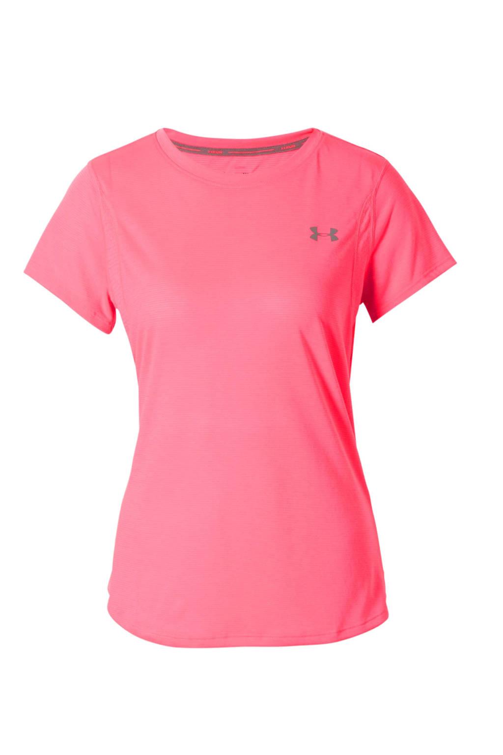 Under Armour hardloopshirt roze, Roze