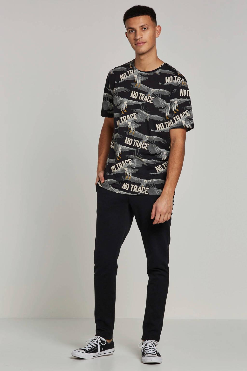 Only & Sons T-shirt, Zwart