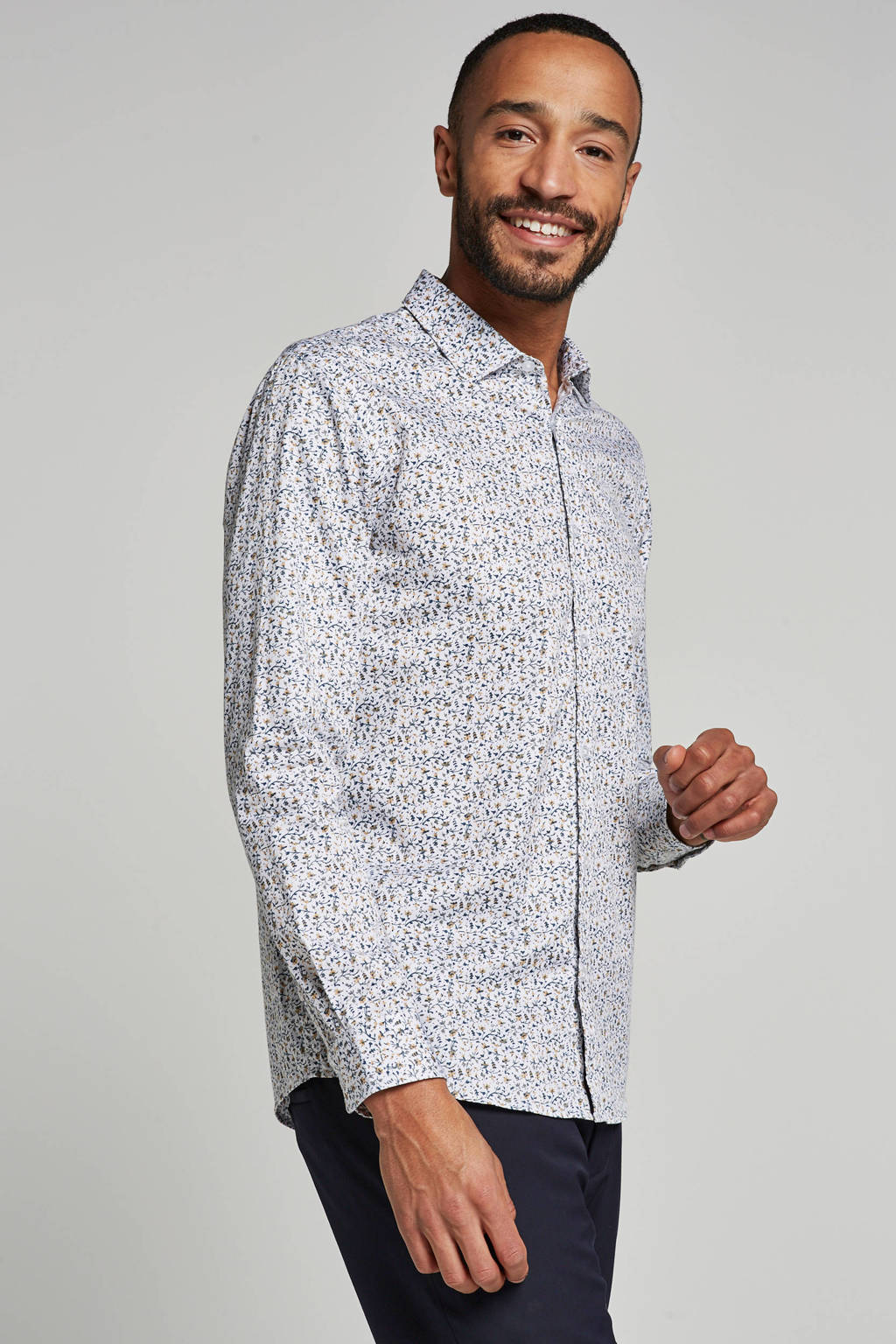ONLY & SONS slim fit overhemd, Wit