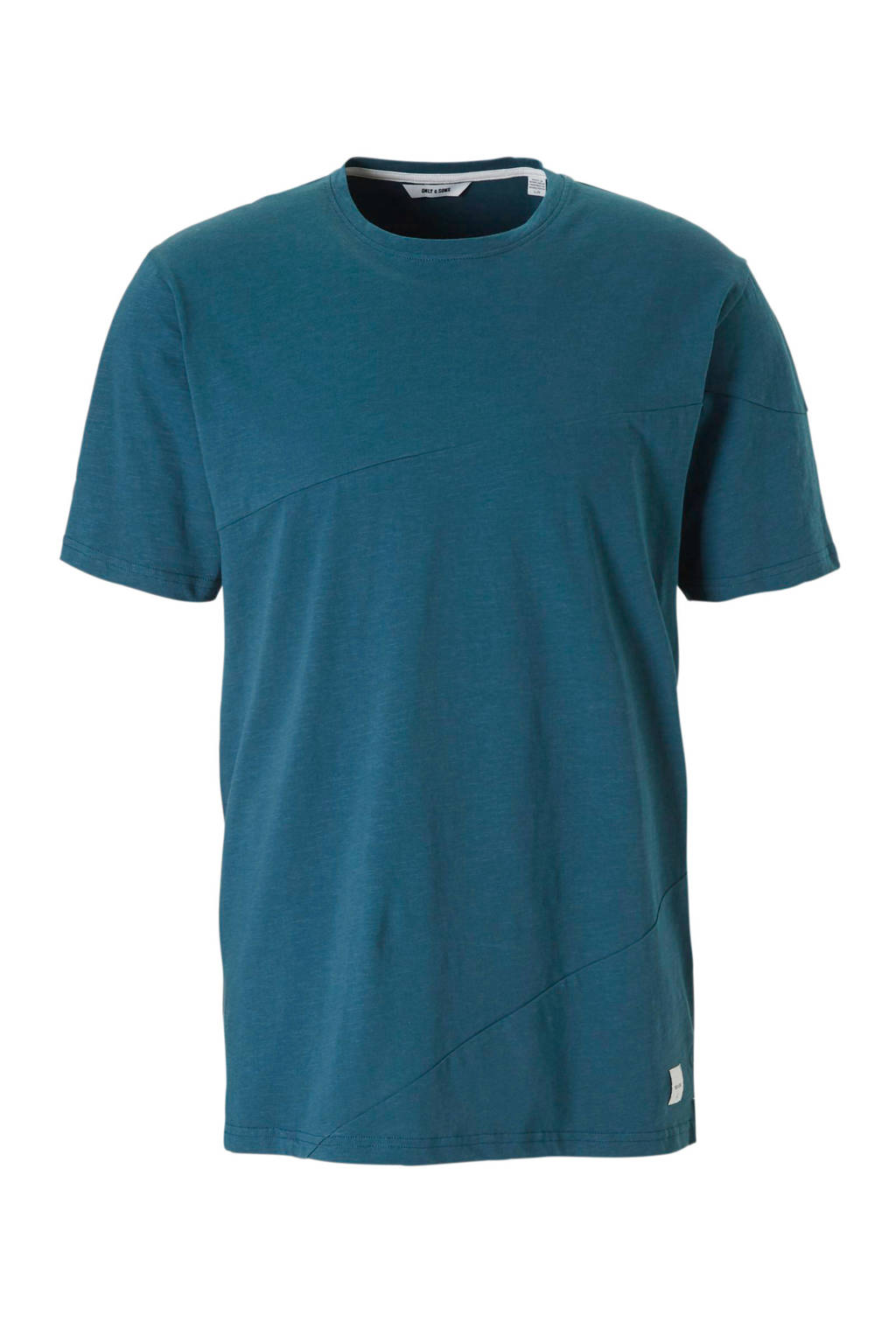 Only & Sons t-shirt, Blauw