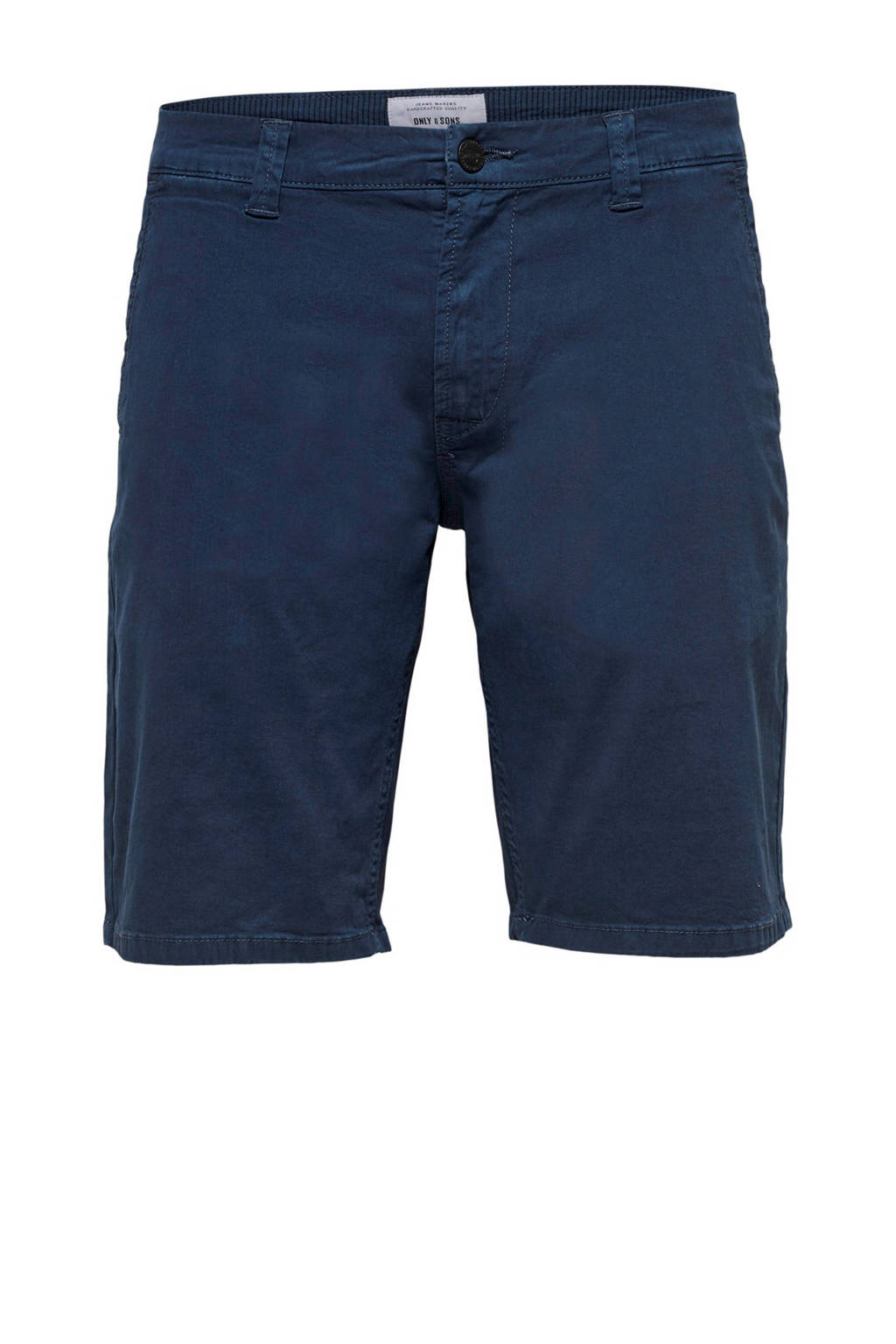 Only & Sons regular fit bermuda Holm, Donkerblauw