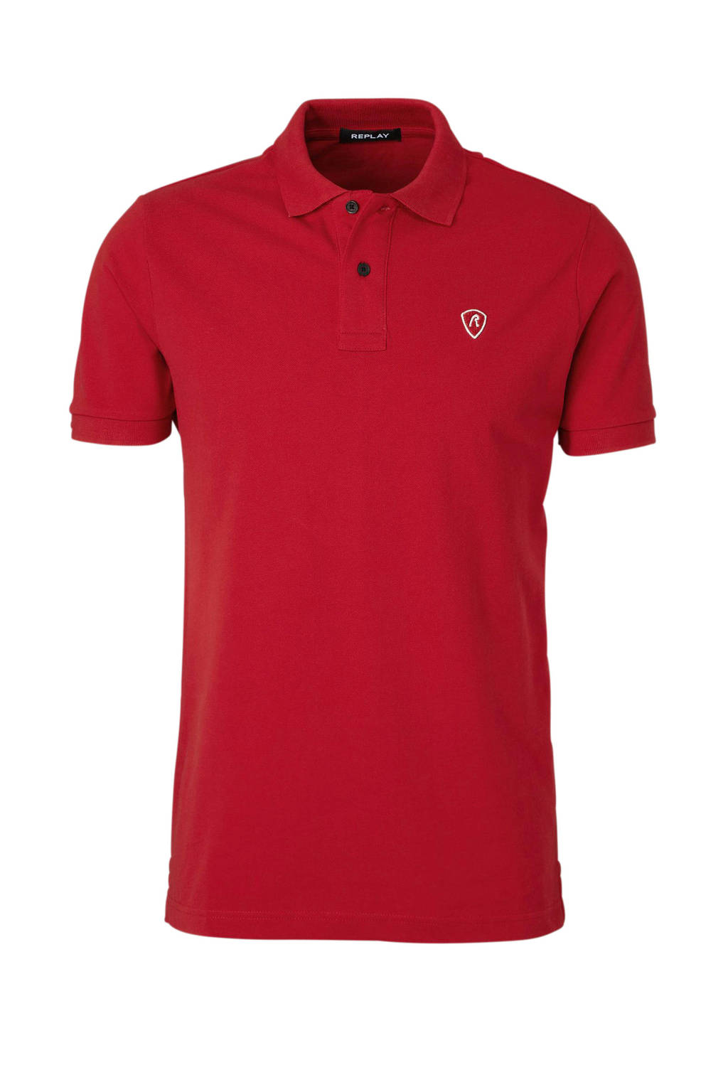 REPLAY polo, Rood