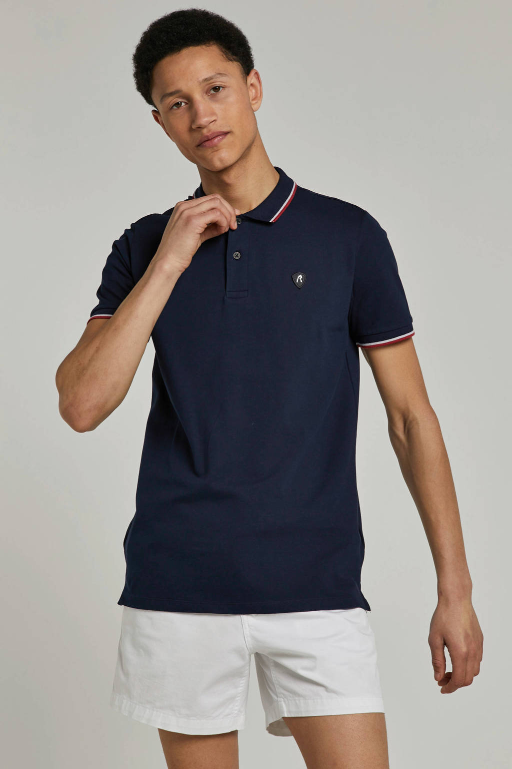 REPLAY polo, Blauw