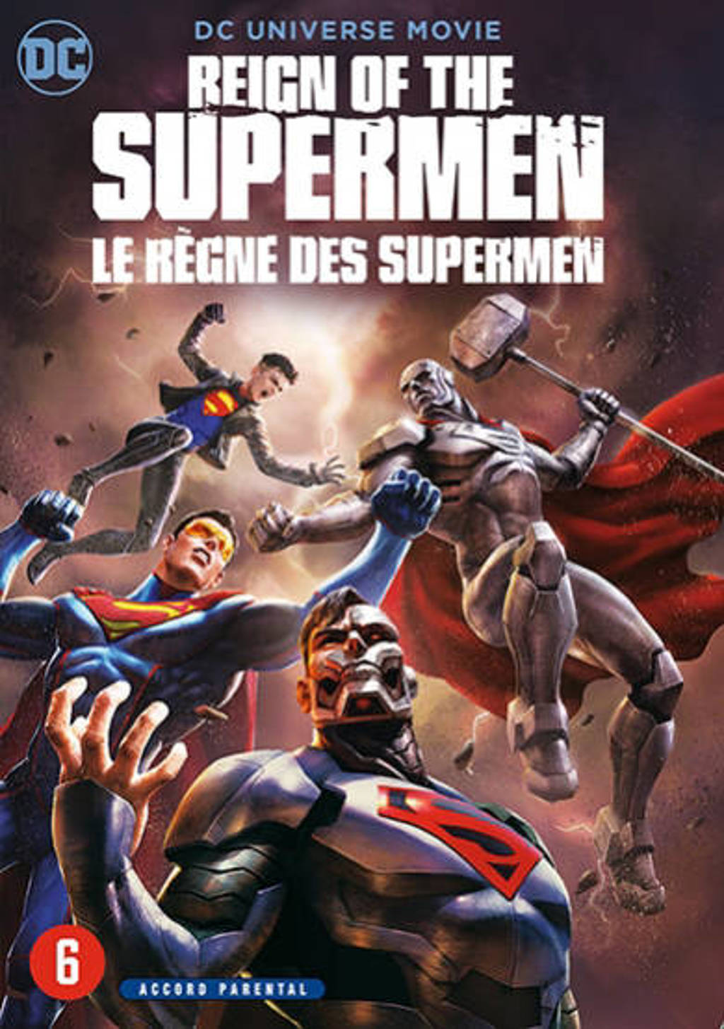 Reign of the supermen  (DVD)