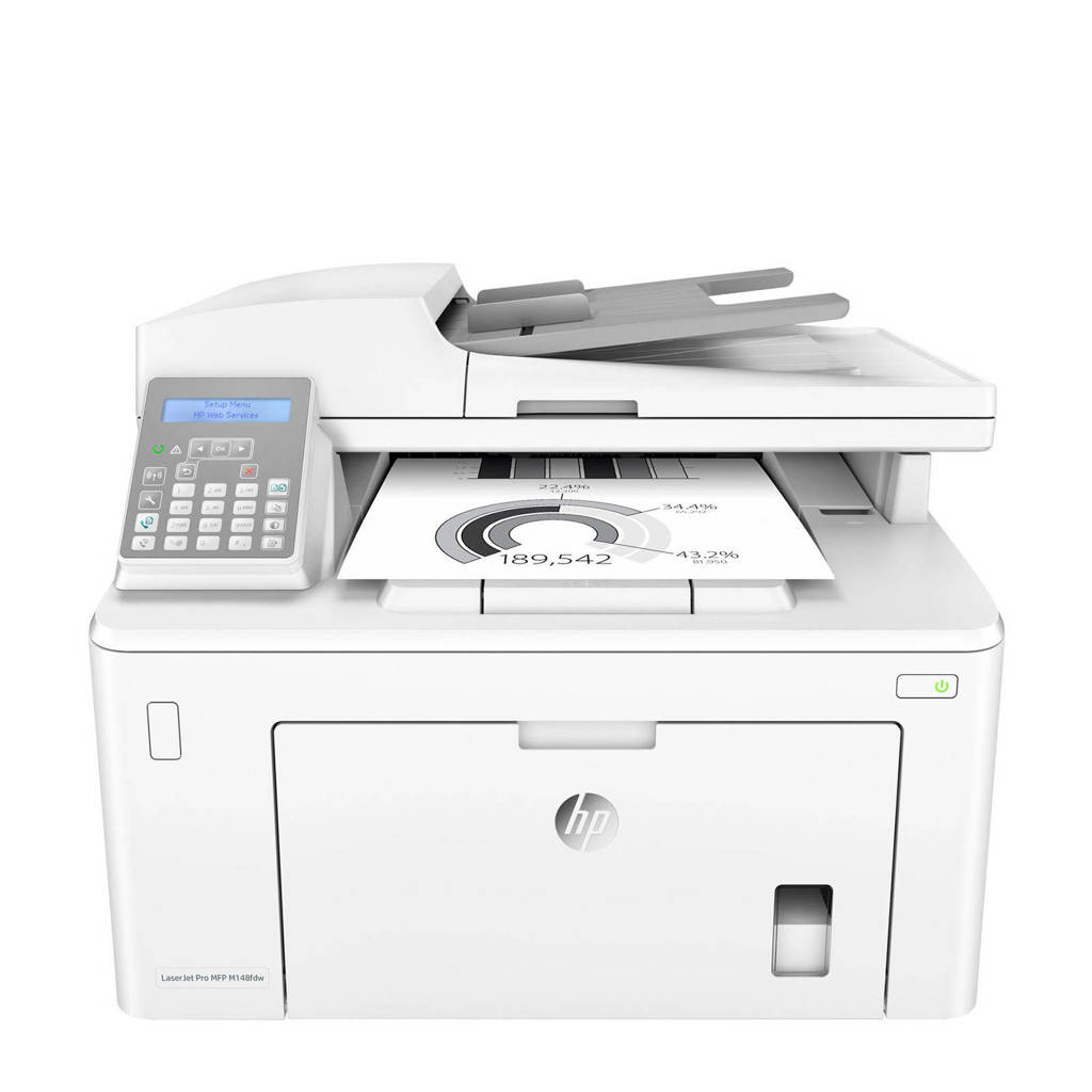 HP LASERJET PRO MFP M148fdw all in one printer, Wit