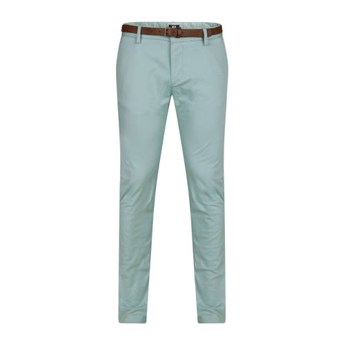 WE Fashion skinny fit chino mintgroen kopen