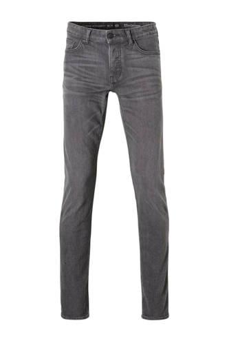 The Denim straight fit jeans grijs