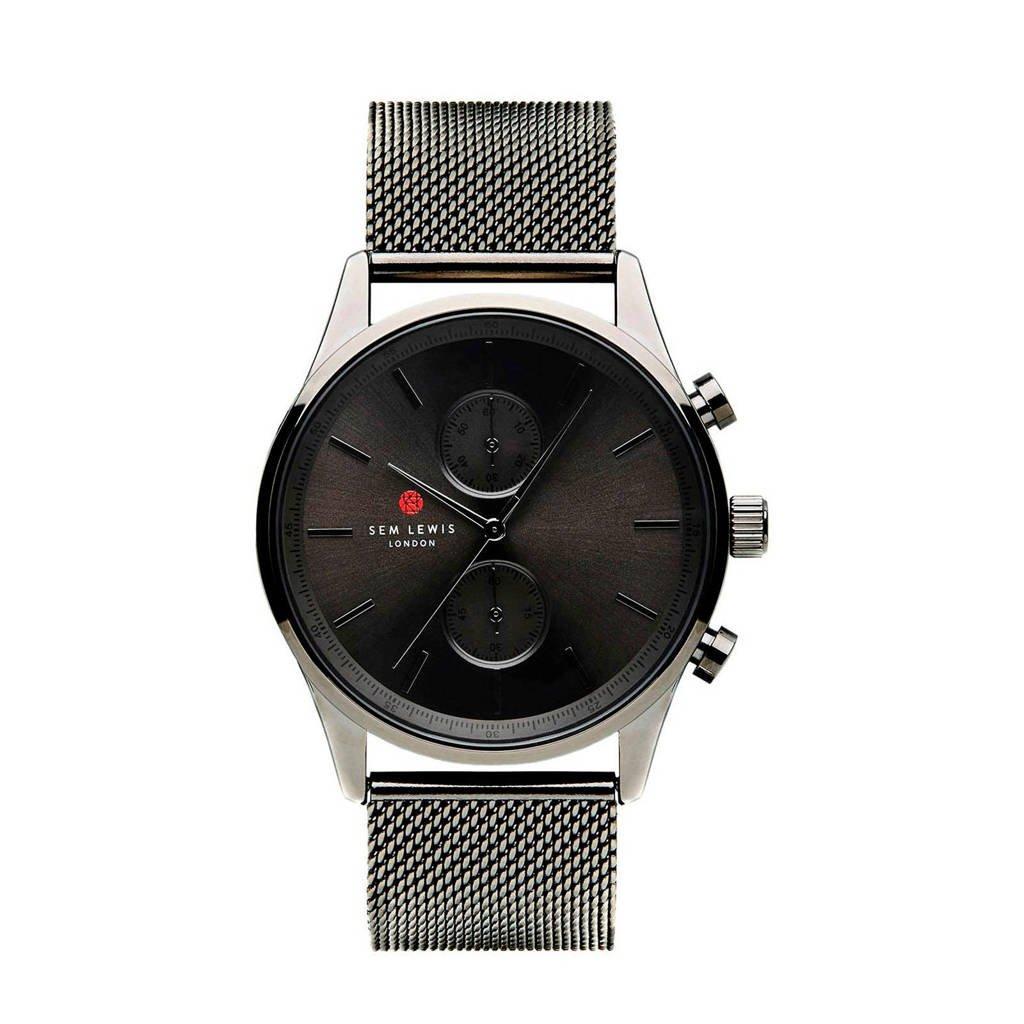 Sem Lewis horloge SL1100002, Grijs