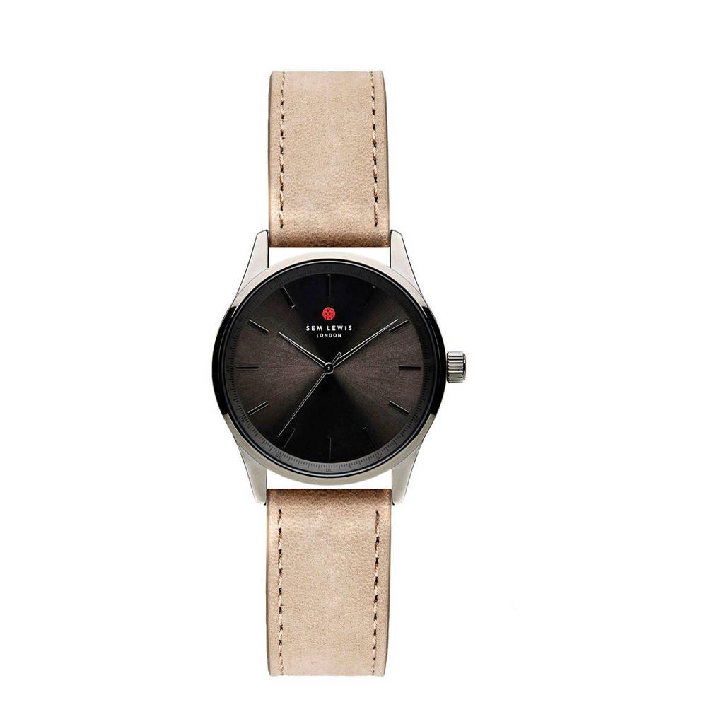 Sem Lewis horloge SL1100003, Taupe