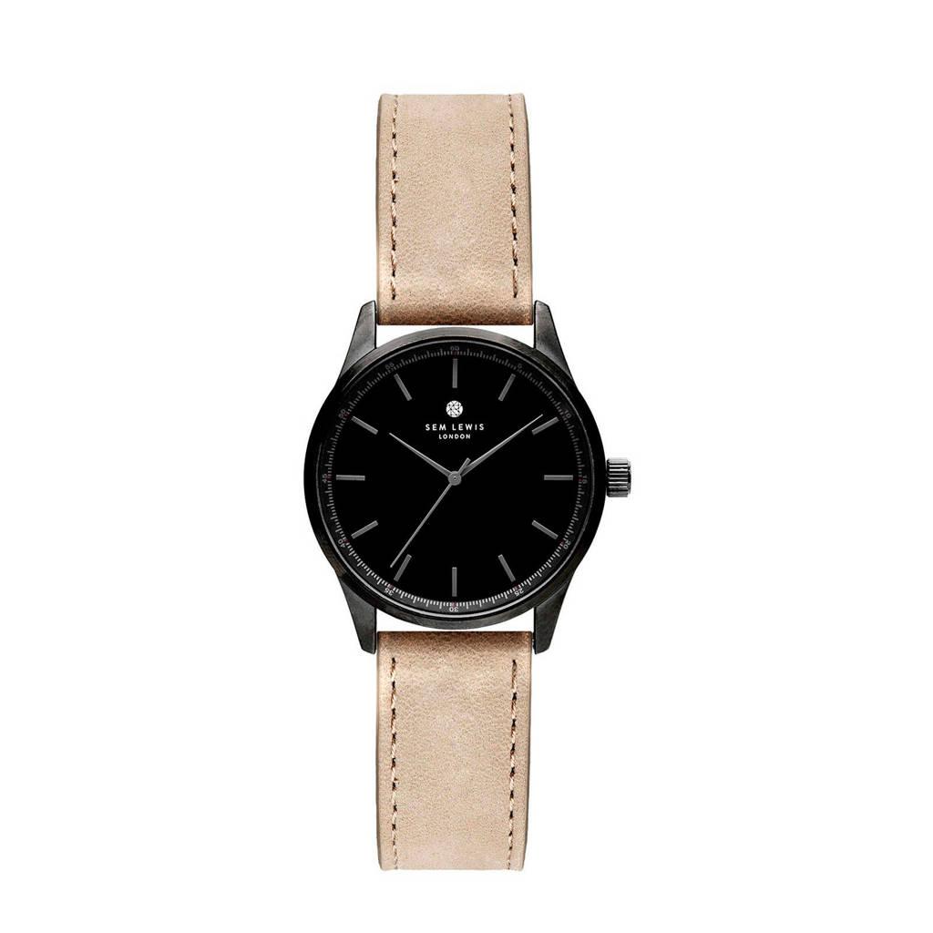 Sem Lewis horloge SL1100009, Taupe