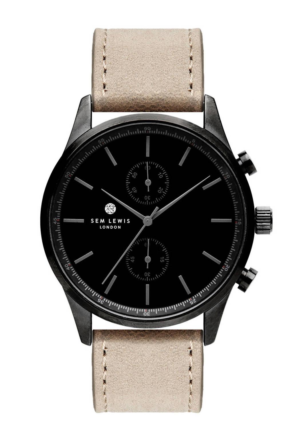 Sem Lewis horloge SL1100010, Taupe