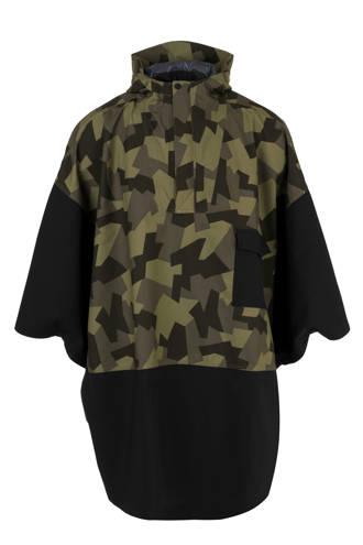 regenponcho camouflageprint