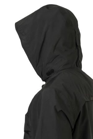 regenjas zwart