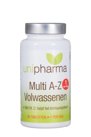 Multi A-Z Vitamines Volwassenen - 90 tabletten