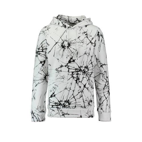 CoolCat hoodie met print wit kopen