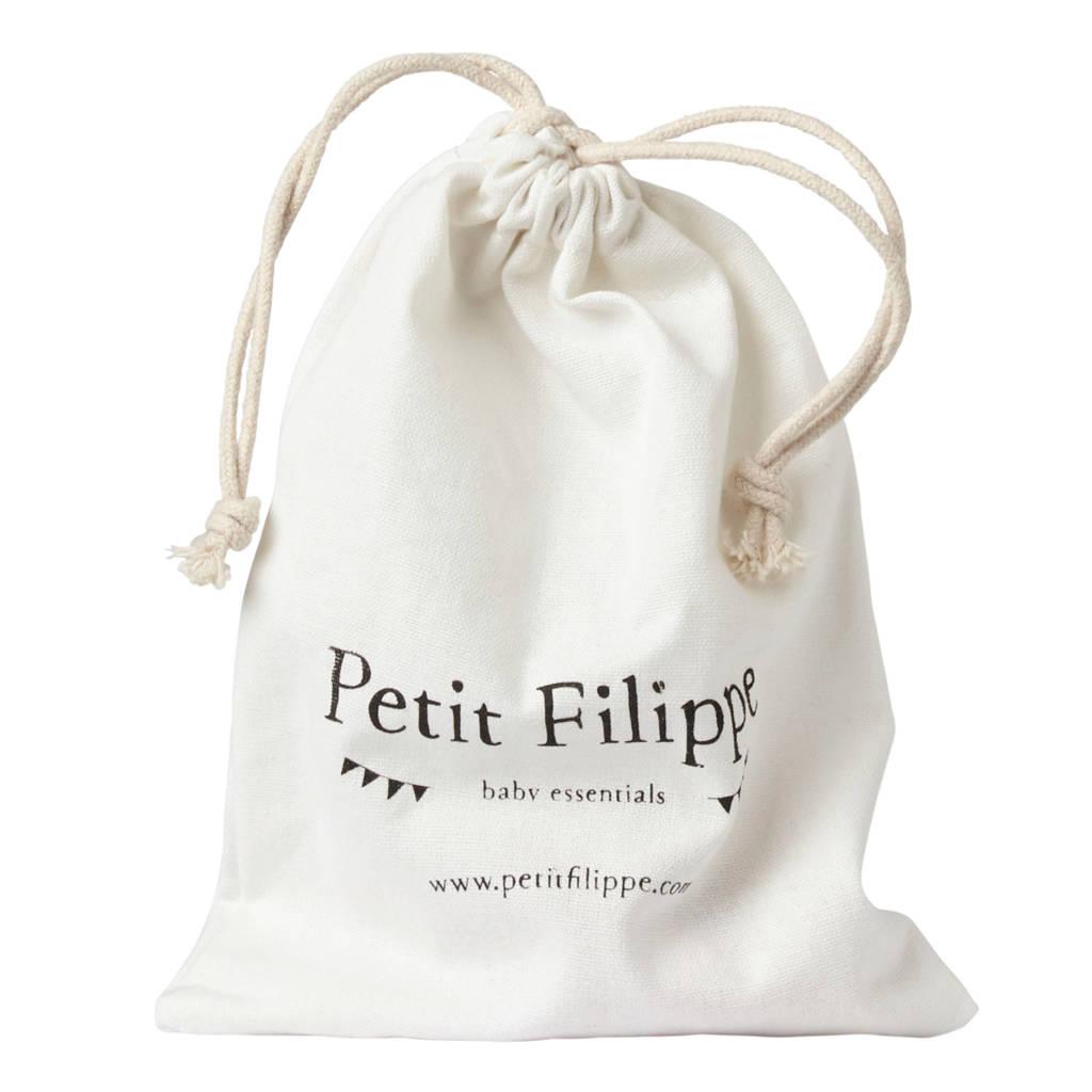 Petit Filippe bandana breton stripes blauw/wit, Donkerblauw/wit