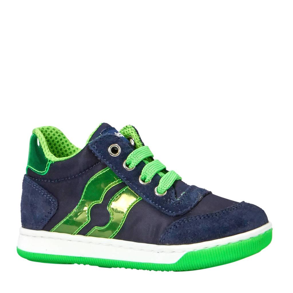 Falcotto Vega sneakers donkerblauw/groen, Donkerblauw/groen