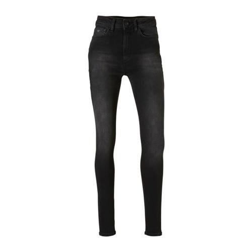 Purewhite The Rock high waist skinny fit jeans zwa
