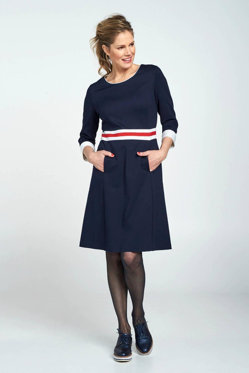 Promiss jurk blauw, Blauw