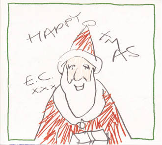 Eric Clapton - Happy Xmas  Del.Ed.) (CD)