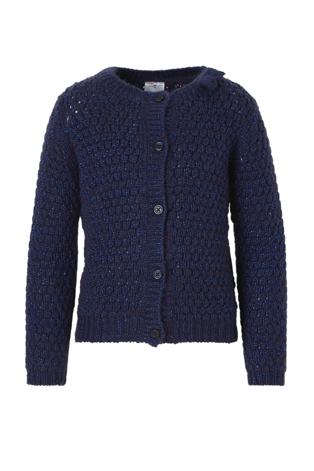 C&A Palomino vest met glitters blauw, Blauw