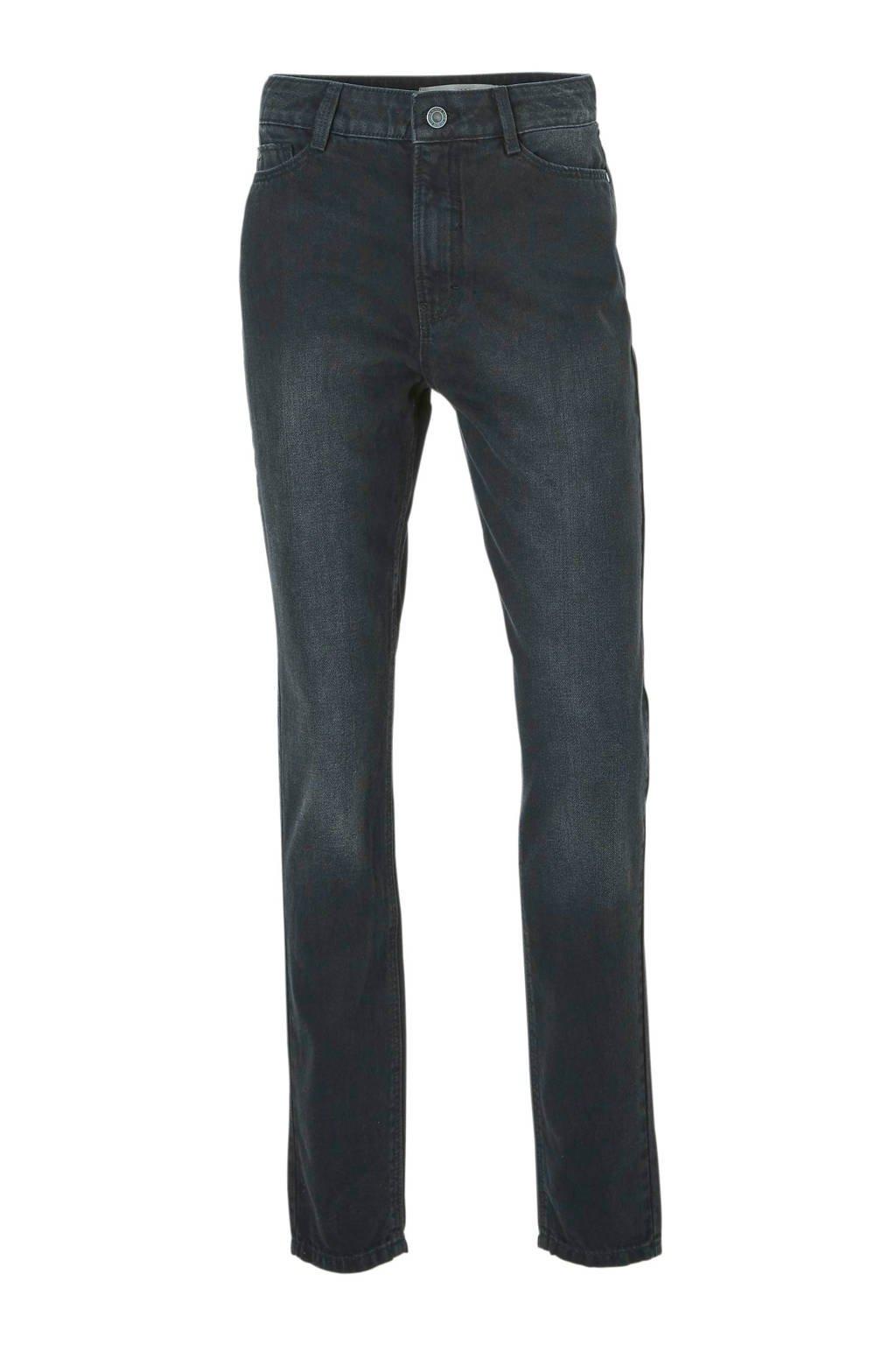 C&A Clockhouse mom fit jeans high fit zwart, Zwart