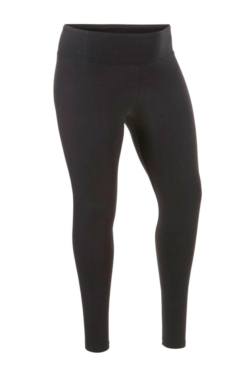 C&A XL Clockhouse legging met hoge tailleboord zwart, Zwart