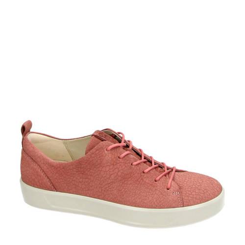 Ecco nubuck sneakers roze kopen