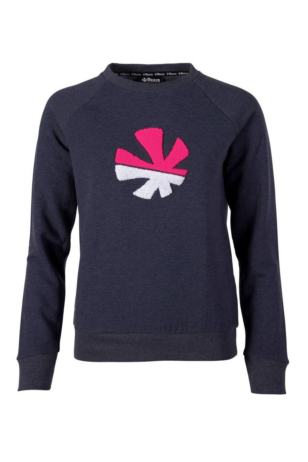 Reece sportsweater, Donkerblauw