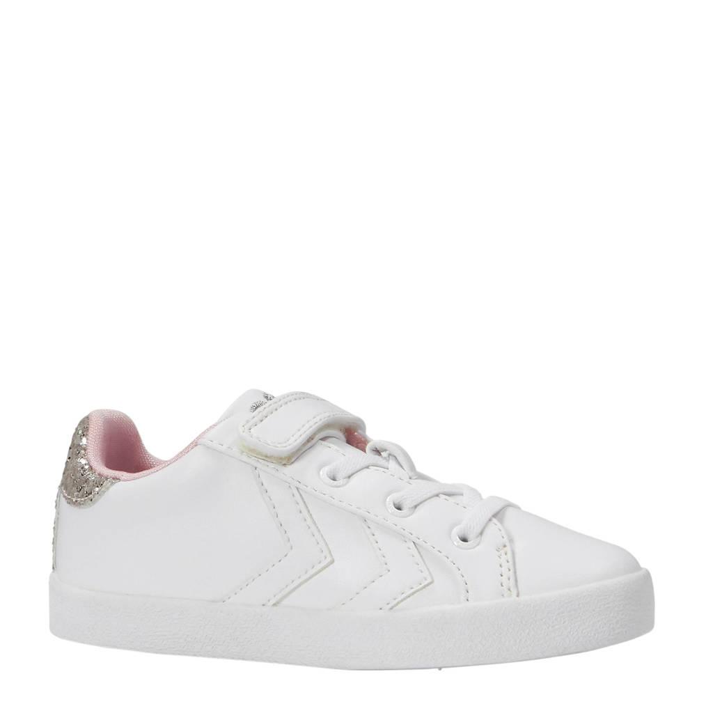 hummel  Deuce Court Princess sneakers, Wit