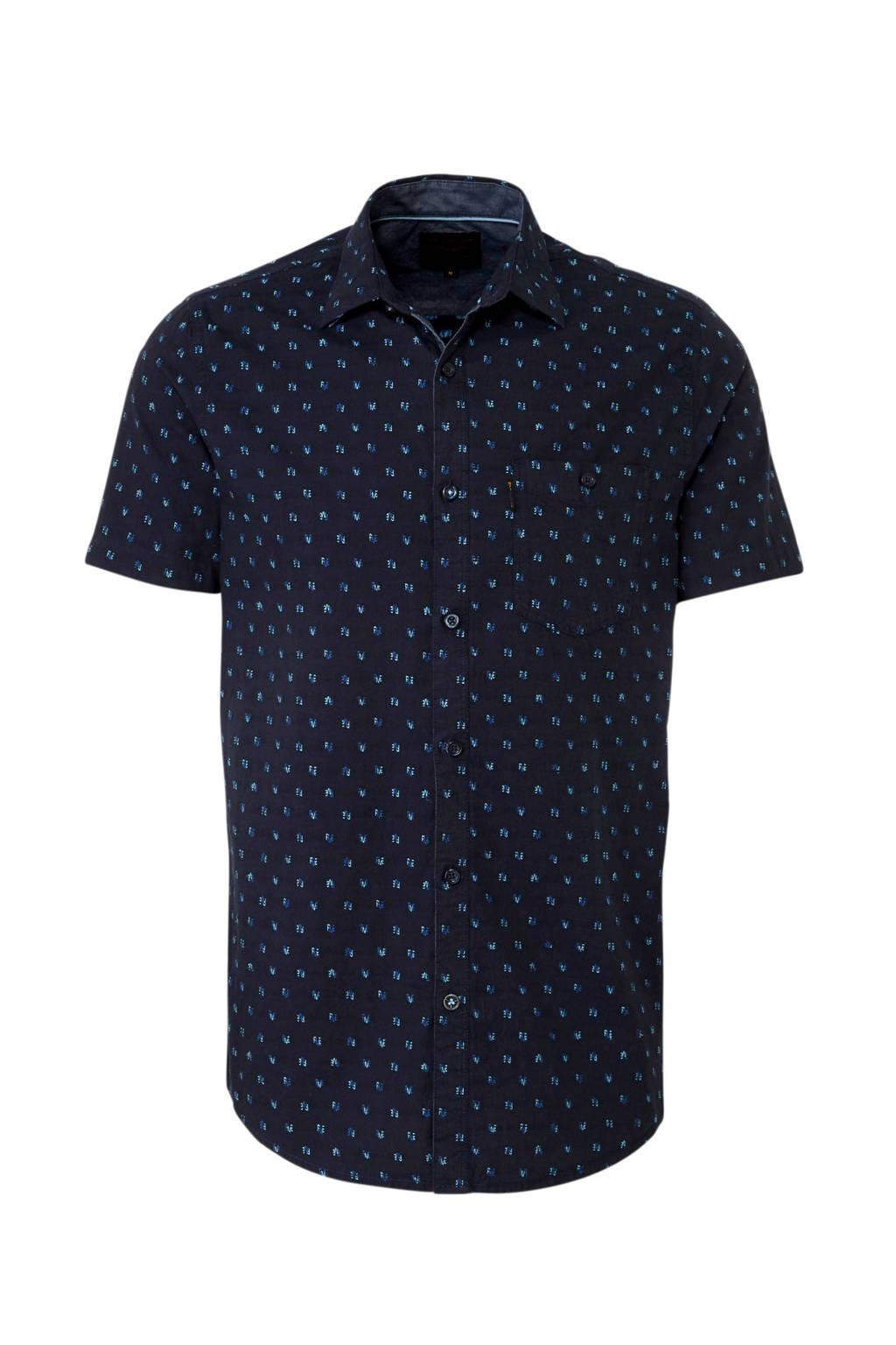 PME Legend overhemd Fil Coupé Paul, Blauw