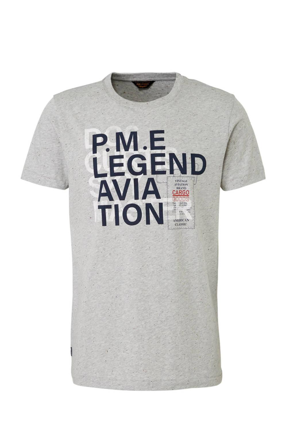 PME Legend T-shirt, Grijs