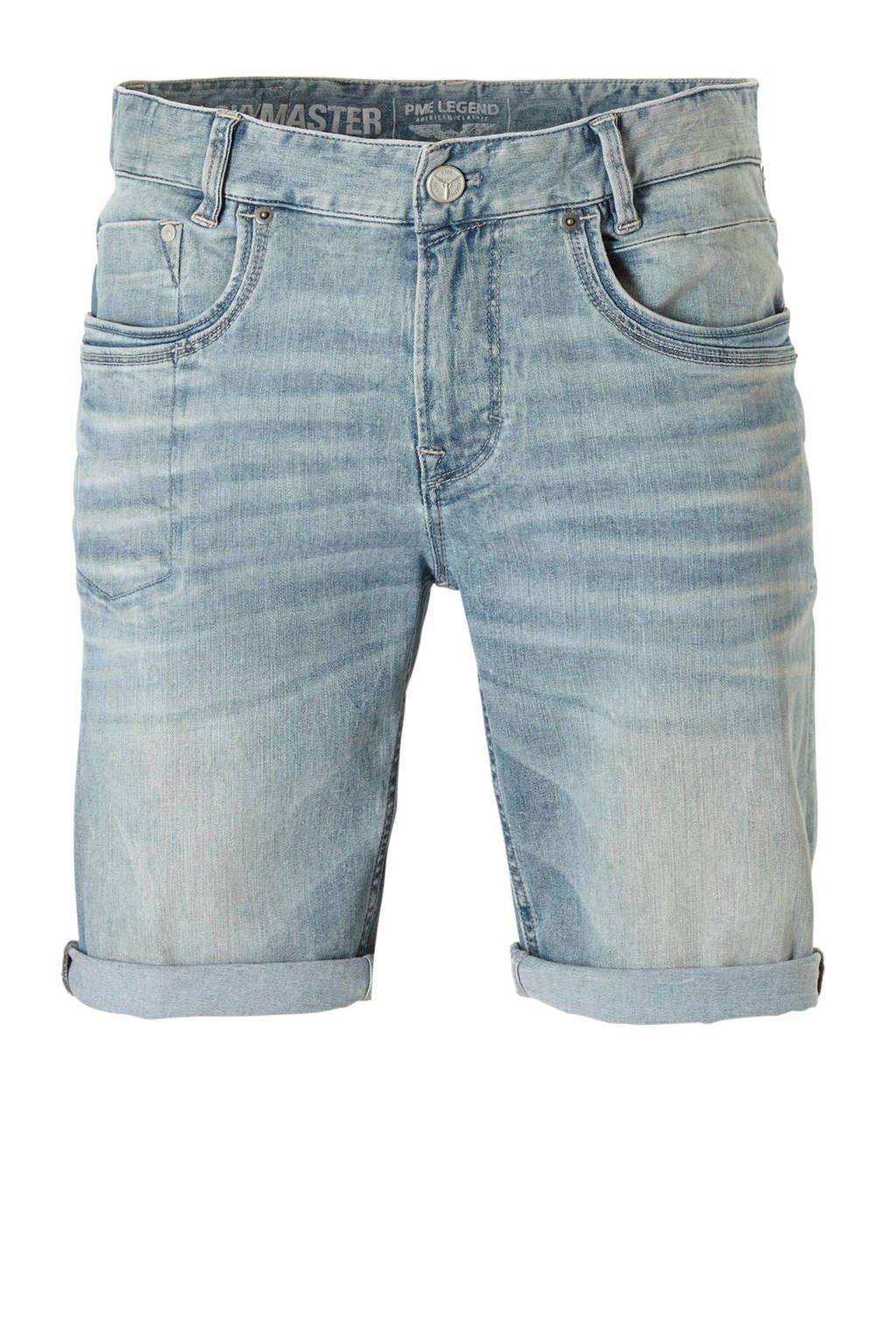 PME Legend regular fit jeans short, Light denim