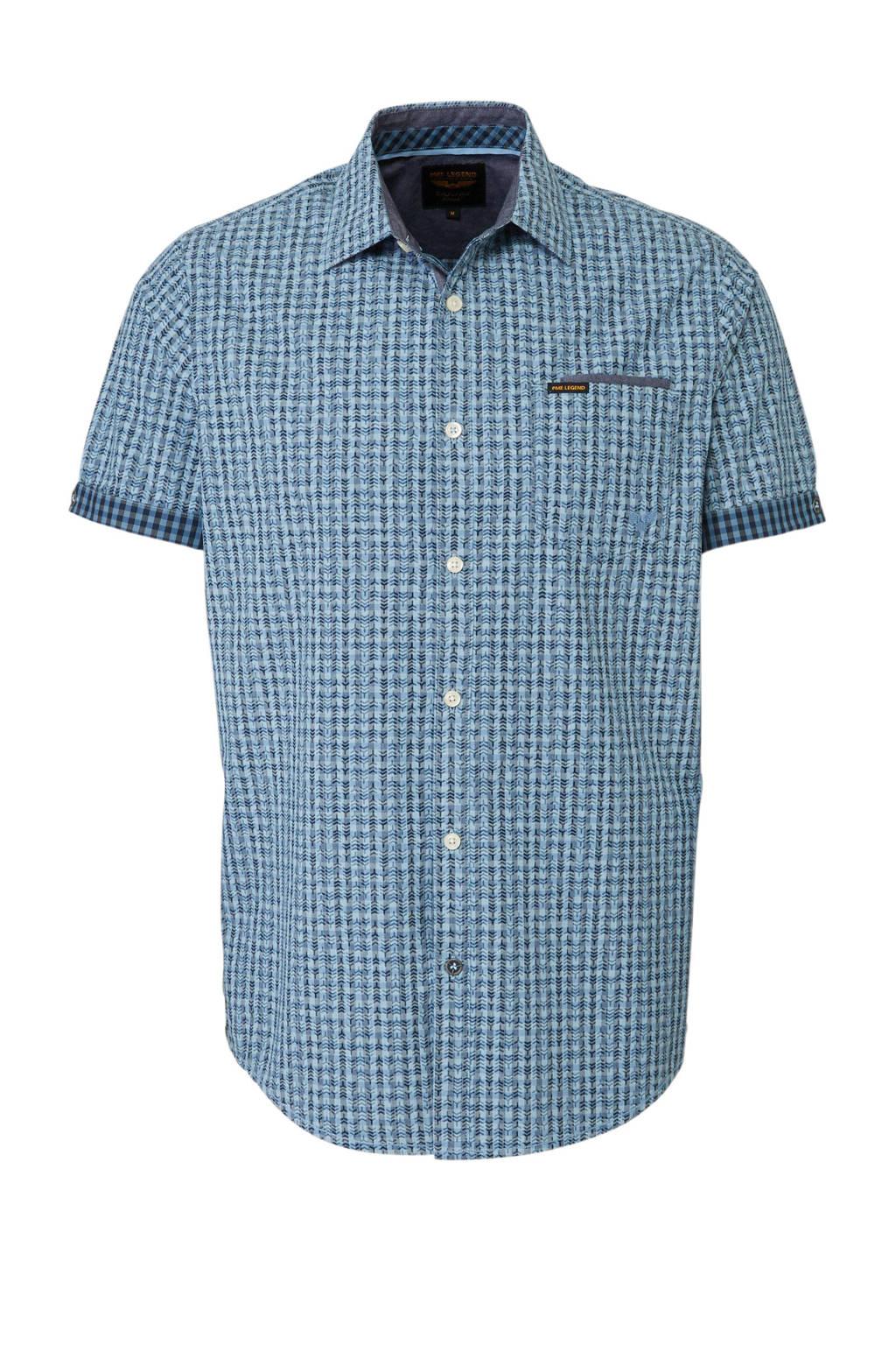 Overhemd Wit Korte Mouw.Pme Legend Overhemd Korte Mouw Wehkamp