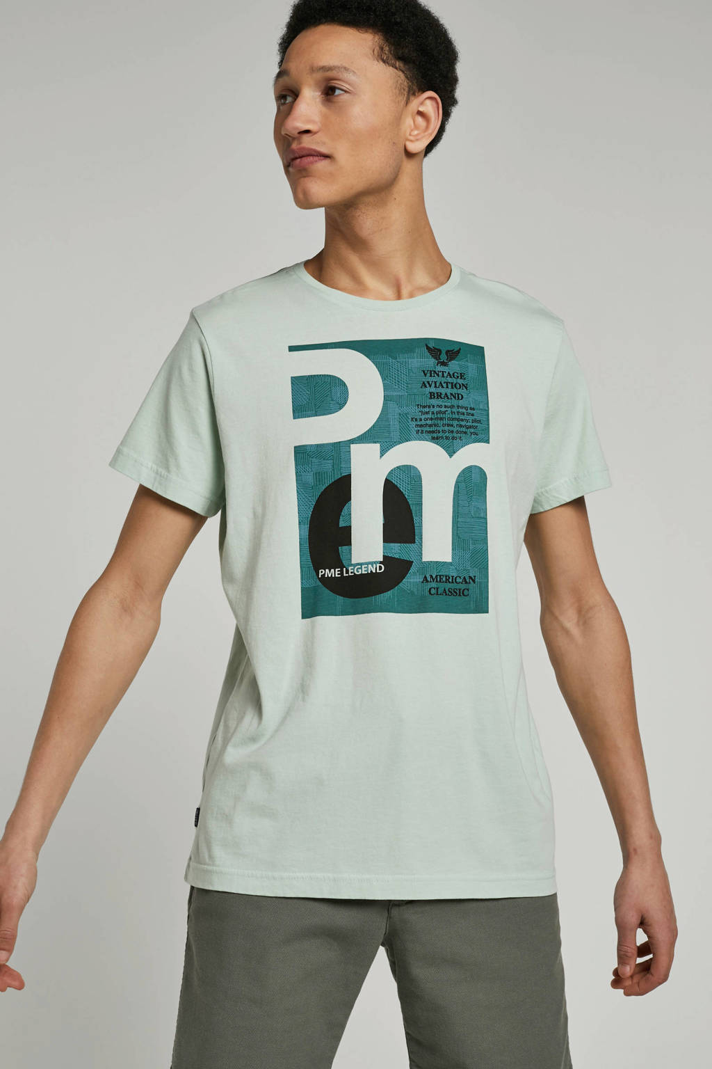 PME Legend T-shirt, Groen
