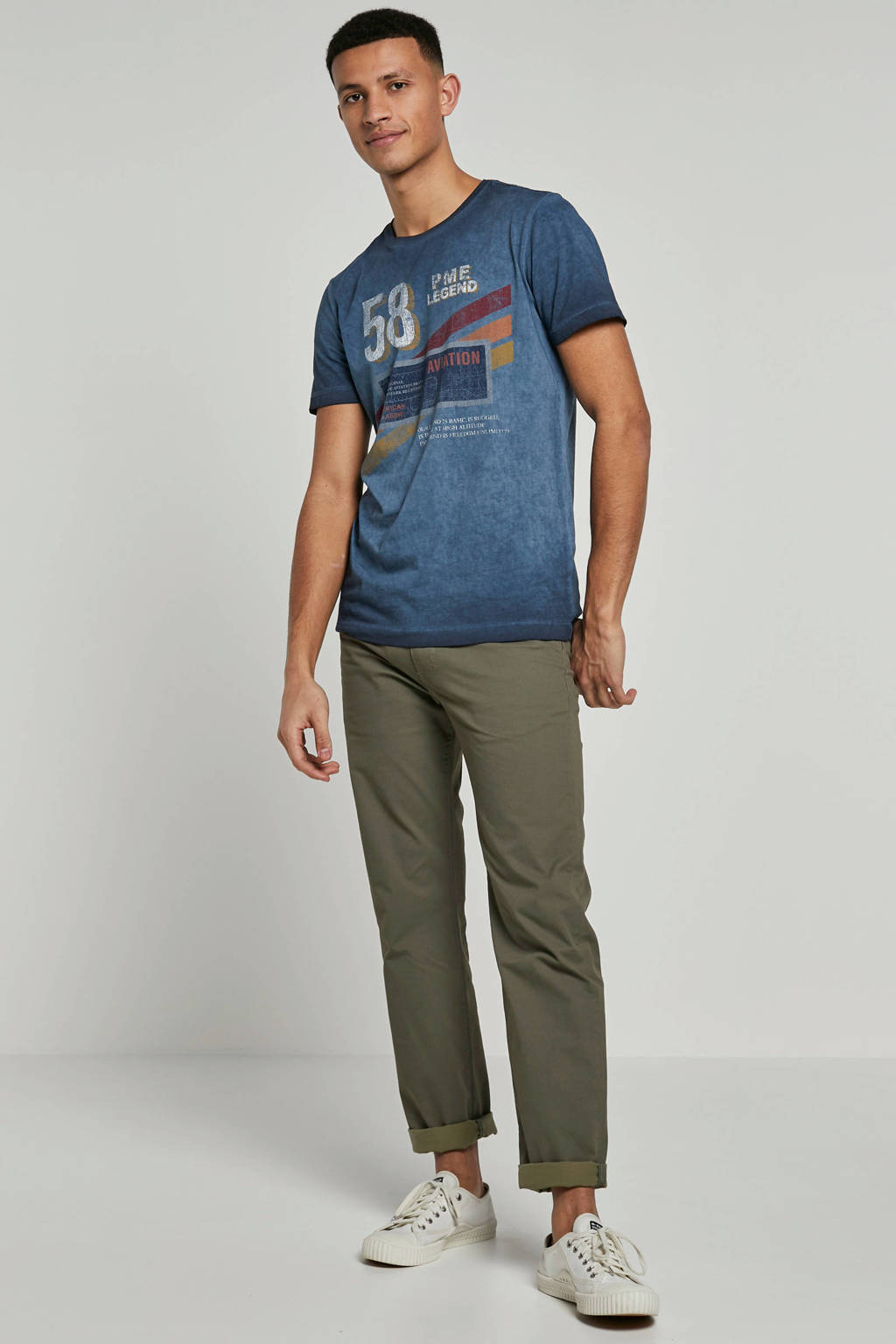 PME Legend T-shirt, Blauw