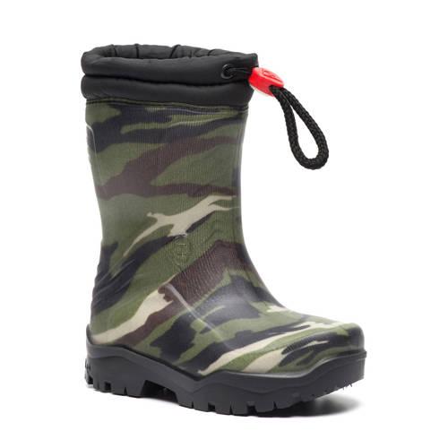 Scapino Dunlop sneeuw- en regenlaarzen camouflage