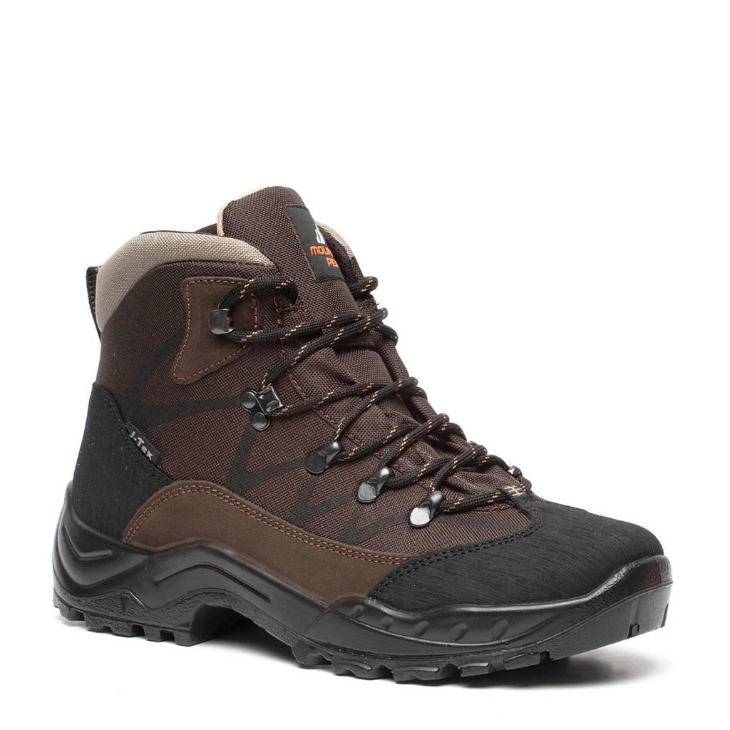 Mountain Peak   leren wandelschoenen bruin, Bruin/beige