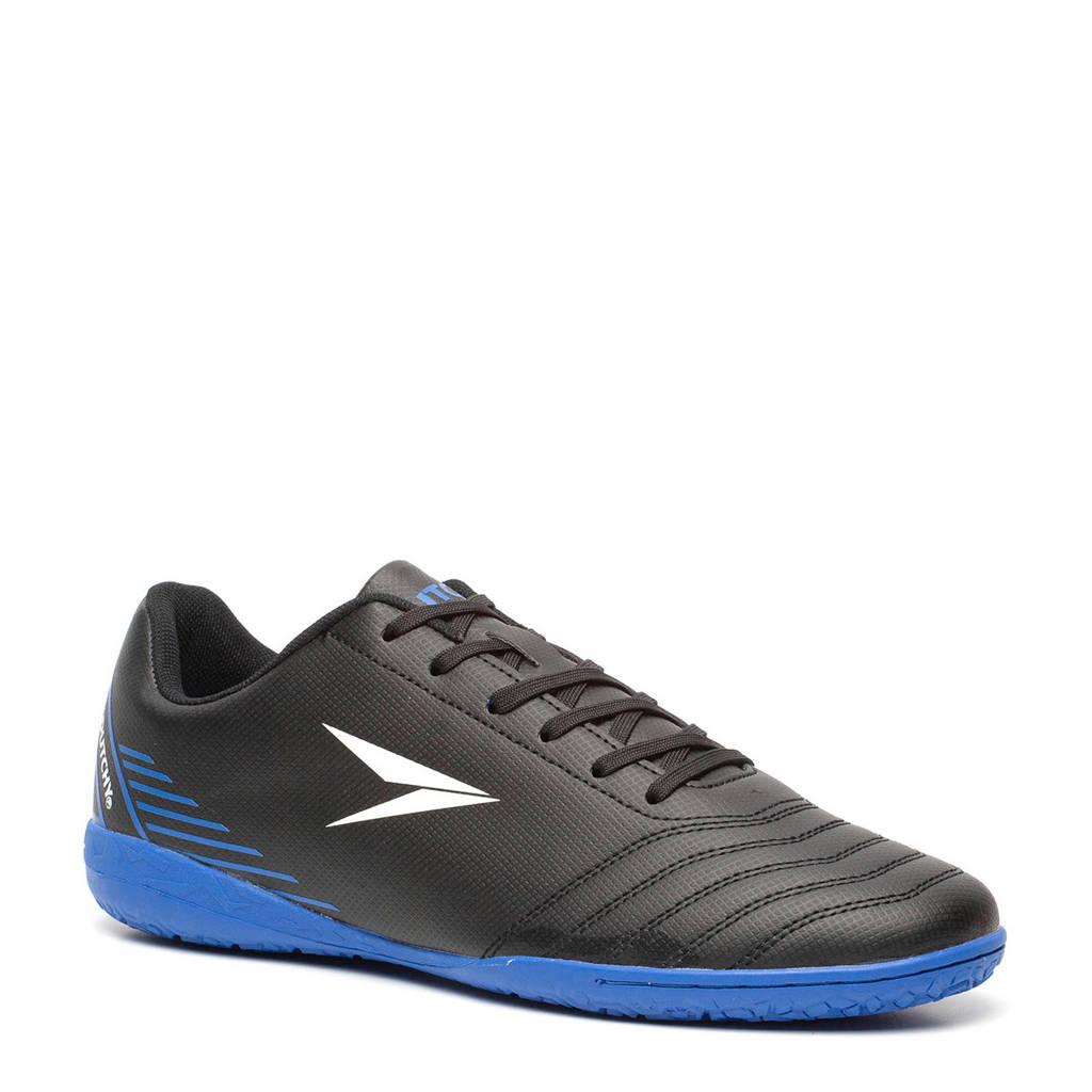 Scapino Dutchy zaalsportschoenen zwart, Zwart/blauw