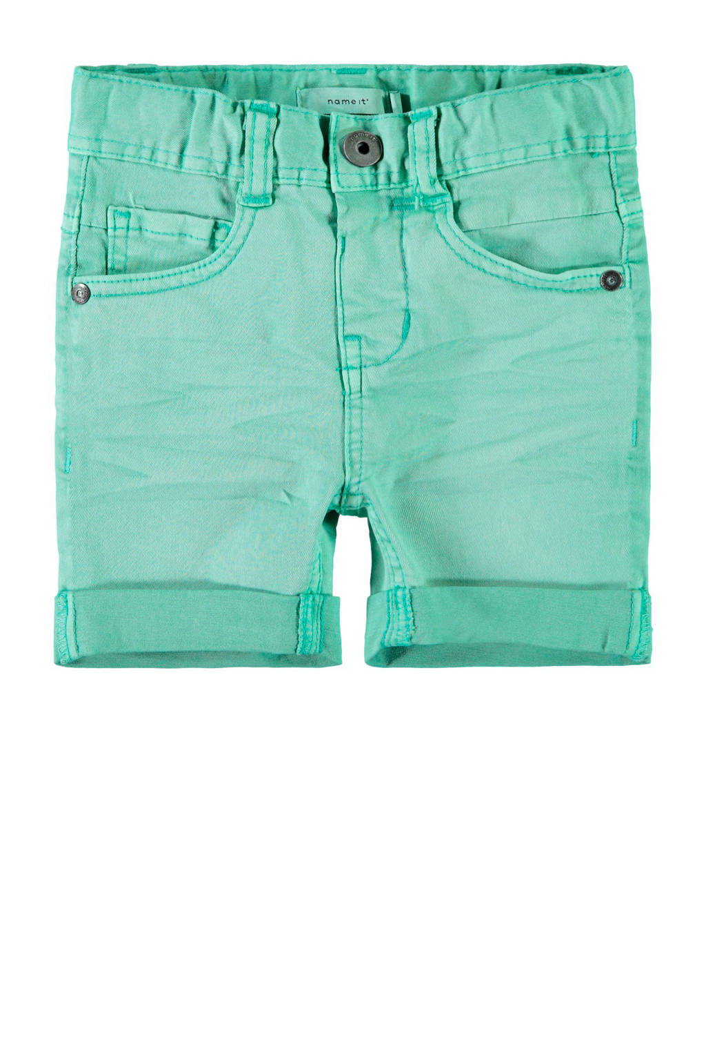 name it jeans bermuda Sofus, Turquoise