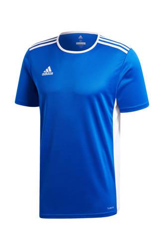 performance   sport T-shirt Entrada blauw
