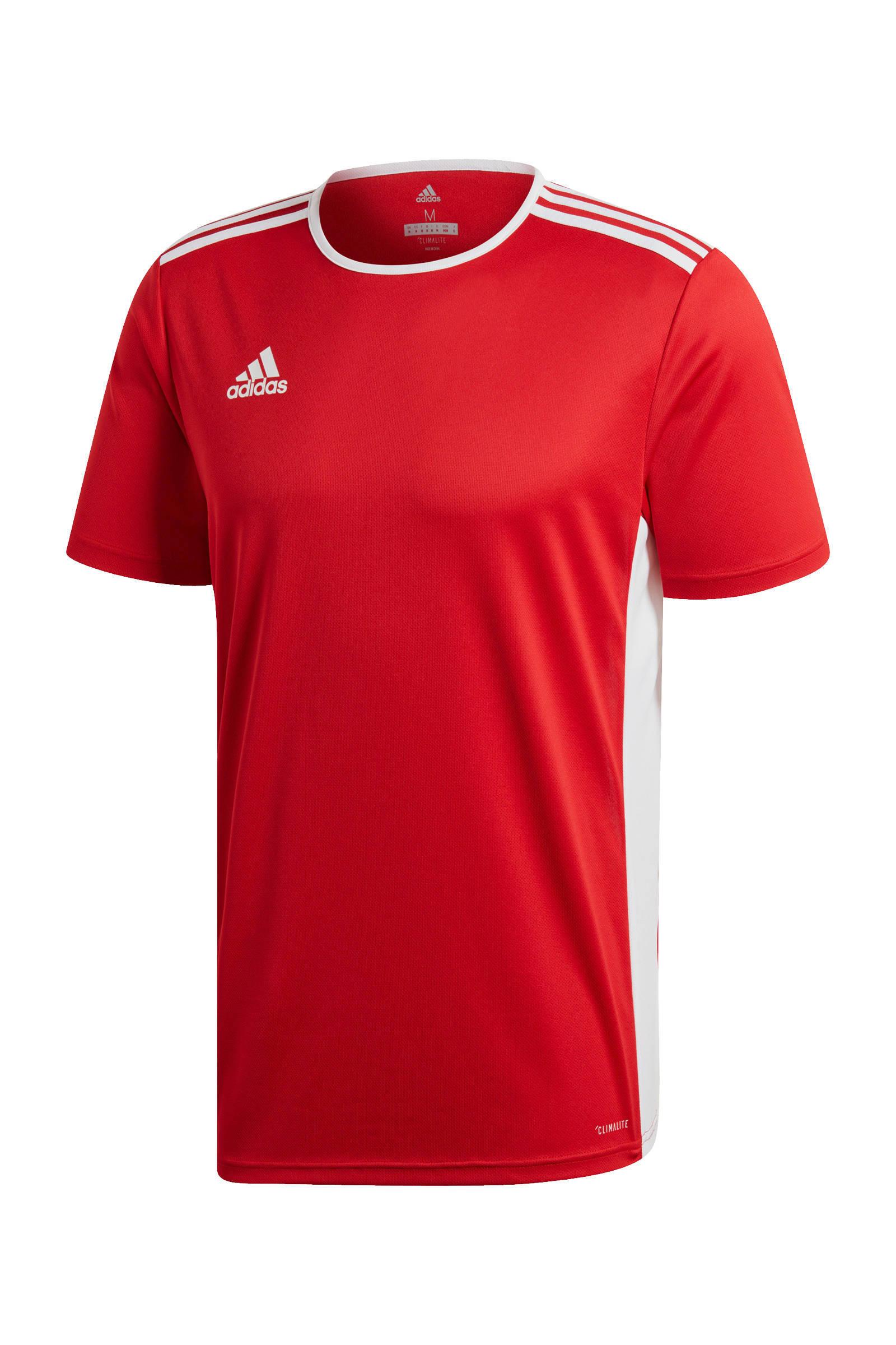 sport T-shirt Entrada rood