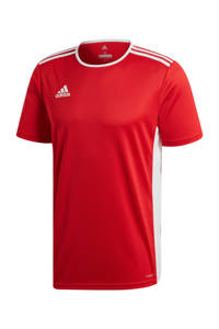 adidas Performance   sport T-shirt Entrada rood, Rood/wit, Heren